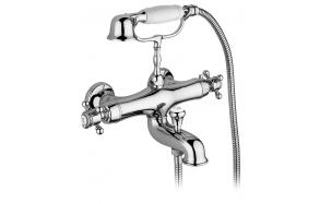 tehrmostatic bath mixer London, chrome