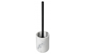 BIANCO Freestanding Toilet Brush/Holder, white