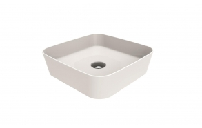 worktop washbasin Loop 40x40 cm white