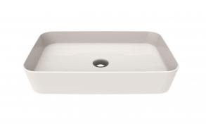 worktop washbasin Loop 40x60 cm white
