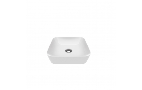 worktop washbasin Ultra 40x40 cm white