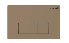 CREAVIT ARC seinasisese raami loputusnupp, cappucino