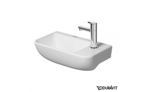 Duravit Me by Starck hand washbasin white, with 1 tap hole right, 400x220 mm