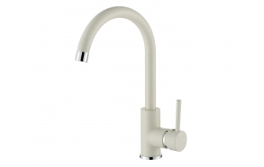 Kitchen mixer with stone color finish S522-111