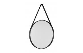peegel Orbiter, diam 60 cm, matt must