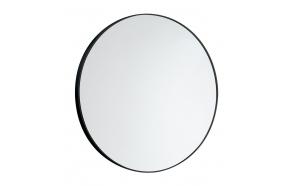 Round Mirror dia 60cm without Fixings, black matt