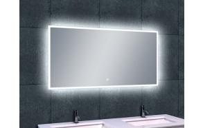 Rectangular LED mirror Quatro 1200x600, antifog