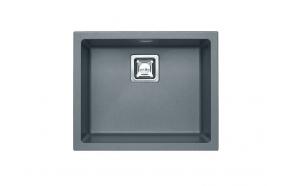 kivimassist köögivalamu Alveus Quadrix 50, steel G04M, rv fitingud ( 1108037 + 1133398)