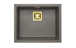 kivimassist köögivalamu Alveus Quadrix 50, steel G04M, pronks fitingud ( 1108037 + 1127154 + 1103611 + 1110855)
