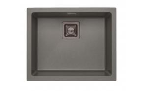 kivimassist köögivalamu Alveus Quadrix 50, steel G04M, antratsiit fitingud ( 1108037 + 1127153 + 1089358 + 1110853)