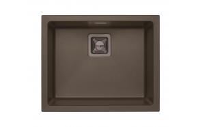 kivimassist köögivalamu Alveus Quadrix 50, chocolate G03M, antratsiit fitingud ( 1108036 + 1127153 + 1089358 + 1110853)