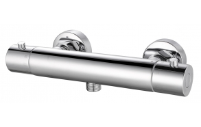 Rio Therm shower mixer tap 15 cm chrome