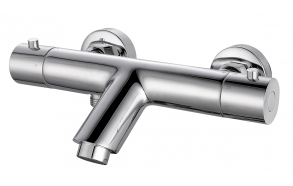 Rio thermostatic bath mixer chrome