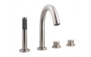 termostaat vannisegisti Caral vanni servale, harjatud teras