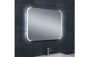 Bracket dimmable LED steam-free mirror 800x600
