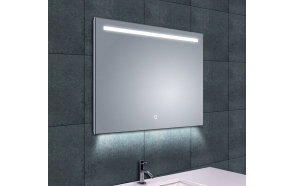 Ambi One dimmable Led steam-free mirror 800x600