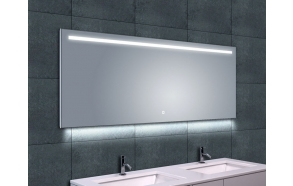 Ambi One dimmable Led steam-free mirror 1600x600