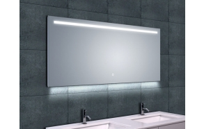 Ambi One dimmable Led steam-free mirror 1400x600