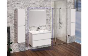 Exellence SEPHIA bathroom furniture 80 cm matt white