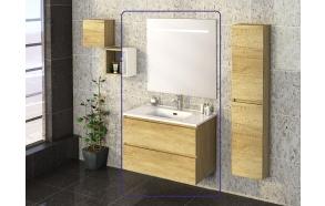 Exellence SEPHIA bathroom furniture 80 cm nature
