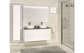 Exellence SEPHIA column cabinet 140x30x25 matt white