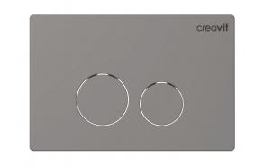 CREAVIT TERRA seinasisese raami loputusnupp, mattkroom