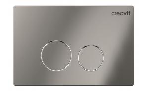 Creavit Terra flush plate, bright chrome