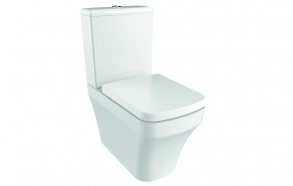 rimfree back to wall wc Solo with bidet, universal trap, dual flush (SO361-00CB00E-0000+MA410+IT5130)