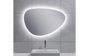 LED peegel Uovo 70x48 cm, dimmerdatav, soojendusega