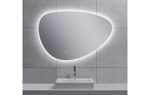 Uovo Led mirror 90x62 cm, dimmable, antifog