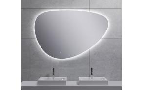 LED peegel Uovo 120x80 cm, dimmerdatav, soojendusega