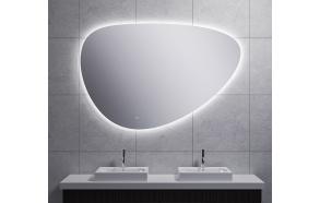 LED peegel Uovo 140x93 cm, dimmerdatav, soojendusega