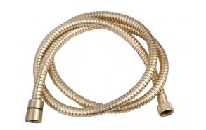 shower hose 150 cm brushed brass