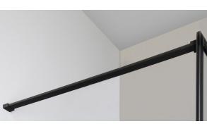 CURE BLACK Shower support bar 1400 mm, black matt