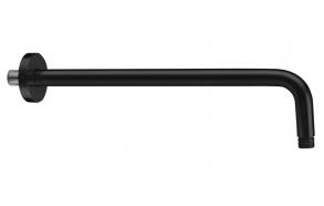 horisontaalne laedušitoru 400 mm, matt must
