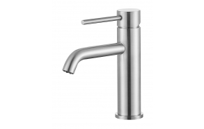 basin mixer Cherry, brushed steel