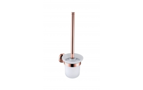 toilet brush Cherry, brushed rose gold