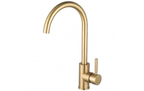kitchen mixer Cherry, brushed gold