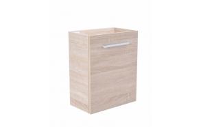 defektiga valamukapp 40x21x50 cm, light oak
