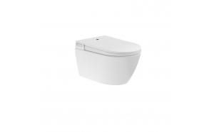 rimless seina wc Cherry, integreeritud bideega, komplektis soft close iste