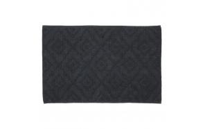 Bath mat 60x90 cm Aztec, Dark Grey