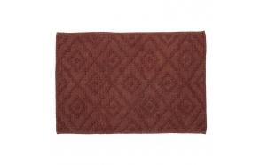 Bath mat 60x90 cm Aztec, Dark Pink