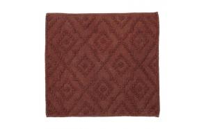 Bath mat 60x60 cm Aztec, Dark Pink