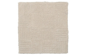 Bath mat 60x60 cm Reverse, Sand