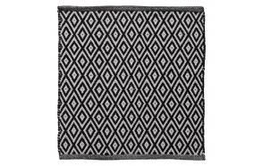 Bath mat 60x60 cm Trellis, Black