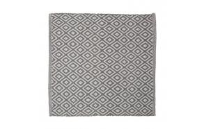 Bath mat 60x60 cm Trellis, Grey
