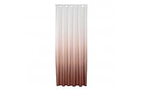 Shower curtain textile 180x200 cm Blend, Dark Pink
