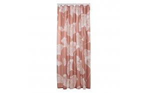 Shower curtain textile 180x200 cm Mare, Dark Pink
