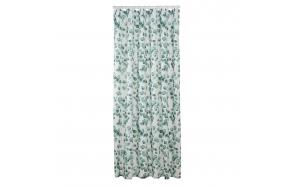 Shower curtain textile 180x200 cm Ayra, Green