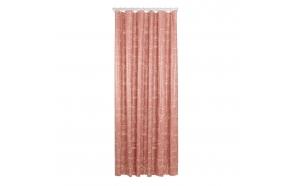 Shower curtain PEVA 180x200 cm Mind, Dark Pink